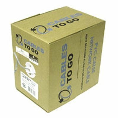 500' Cat6 Pvc Cable Grey