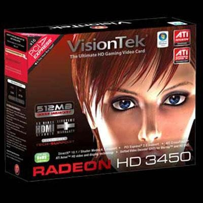 Radeon HD3450 PCI 512MB