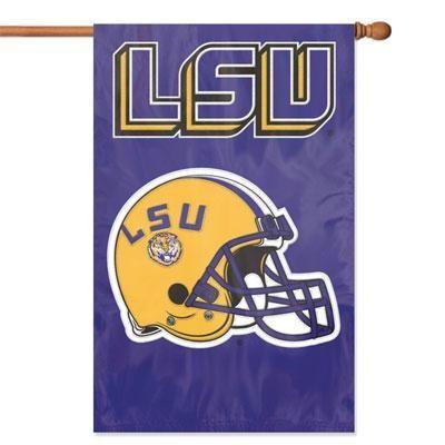 Lsu Applique Banner Flag