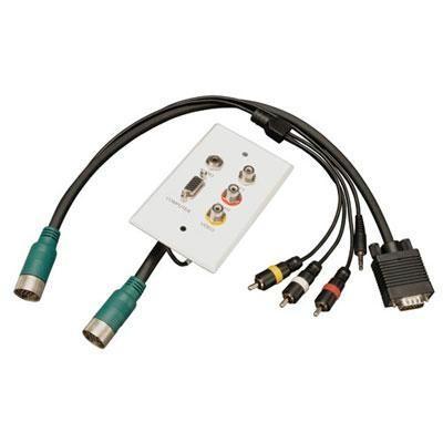 M/F set of VGA,3.5mm,RCA Audio