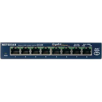 Switch 8-port 10/100/1000mbps