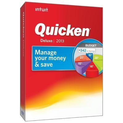 Quicken 2013 Deluxe  Retail