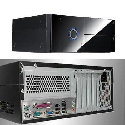 Matx Desktop Case, Ip-p300bn1/