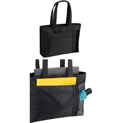 Laptop Tote -Black