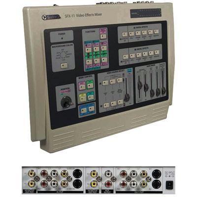 Digital Video Effects Mixer