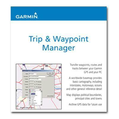 MapSource Trip/Waypoint Mgr