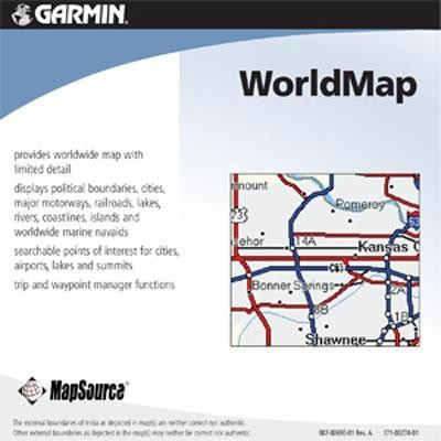 Mapsource World Map Cd