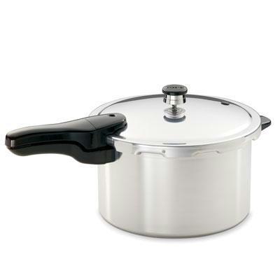 8 Qt. Aluminum Pressure Cooker