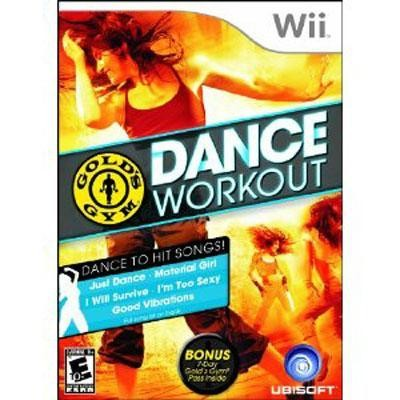 Gold\'s Gym Dance Workout Wii