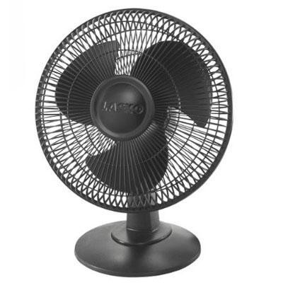 "12"" Table Fan, 3-speed (black)"