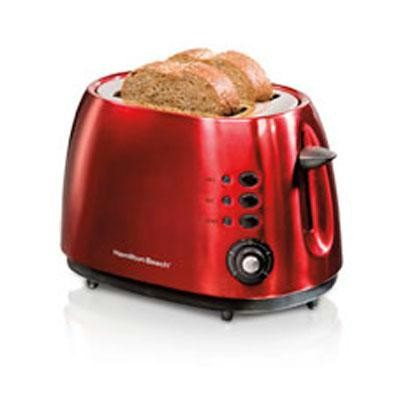 Metal Toaster Red