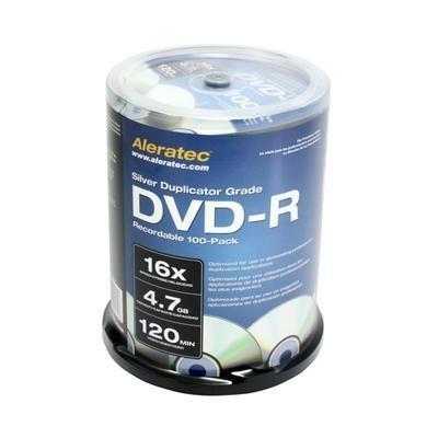 16x DVD-R Media 100-pack