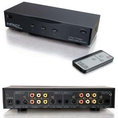 Digital Audio Selector Switch