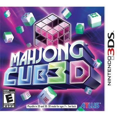 Mahjong Cub3D 3DS