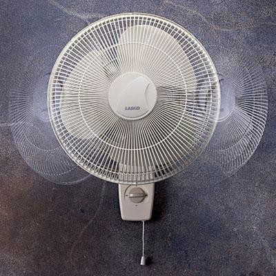 "16"" Oscillating Wall-mount Fan"