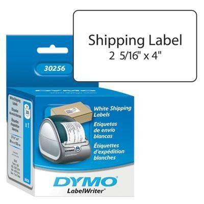 "White Shipping Label 2-5/16""x4"