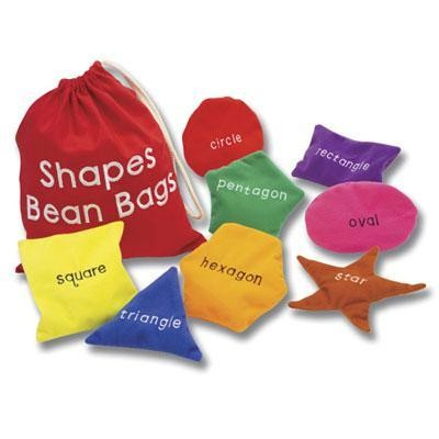Ed In Shapes Bean Bags