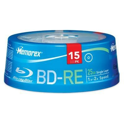 BD-RE 25GB 2x 15pk Spindle