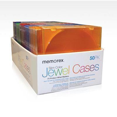 50 Pk Jewel Cases