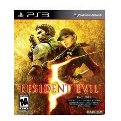 RE5: Gold Edition PS3