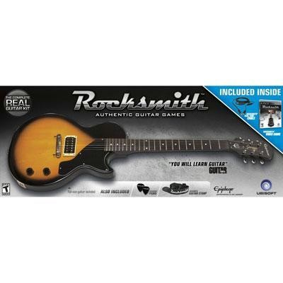 Rocksmith Guitar Bundle PS3