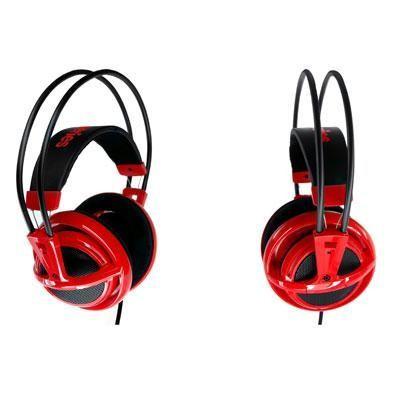 Siberia V2 Headset Red
