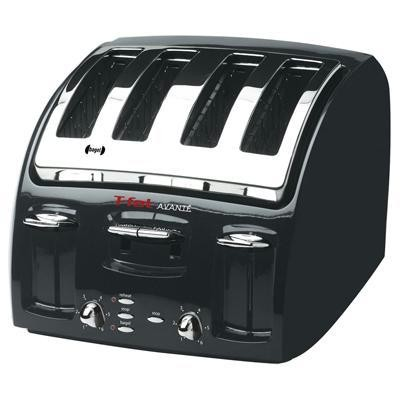 Avante 4 Slice Toaster- Black