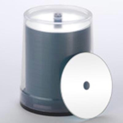 White Hub Printable CD-R 100