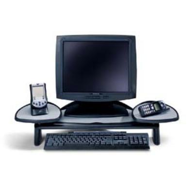 Flat Panel Monitor Stand Black