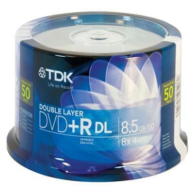Dvd+r Double Layer 8.5gb 50pk