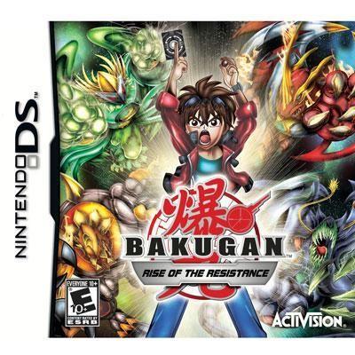 Bakugan Rise of Resistance DS