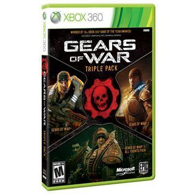 Gears of War Triple Pack X360