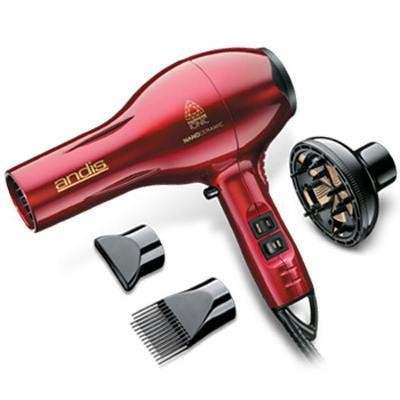 A 1875w Ionic Hair Dryer Red