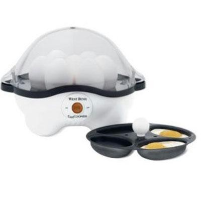 Wb Auto Egg Cooker White