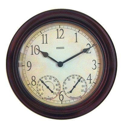 "Sf 14"" Metal Garden Clock"
