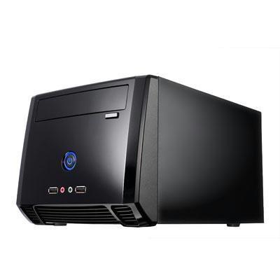 Mini ITX Tower Glossy Black