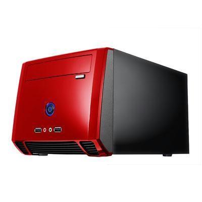 Mini Itx Tower Black/red
