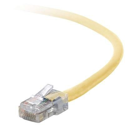 100' Cat5e Patch Cable Yellow