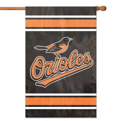Orioles Applique Banner Flag