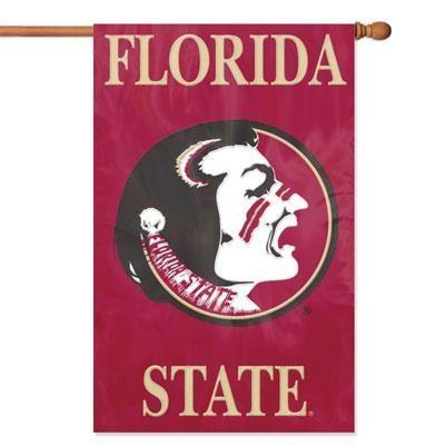 Florida St  Appliquebannerflag