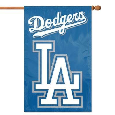 Dodgers Applique Banner Flag