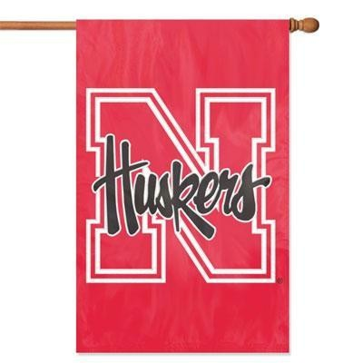 Nebraska Applique Banner Flag
