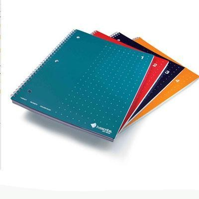 Notebook, Single Subject,4pk