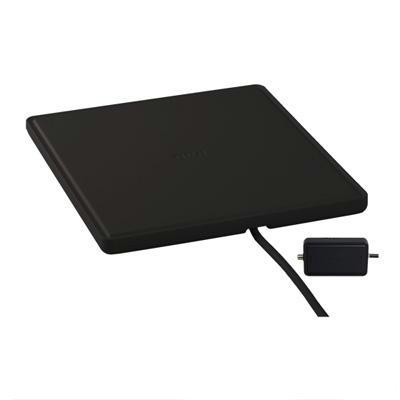 Flat Digital Antenna Black