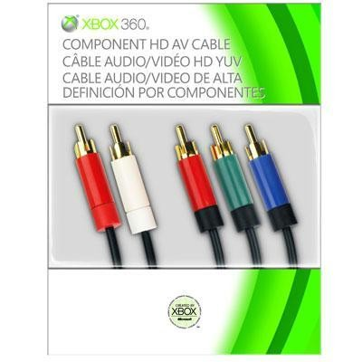 Component Hd Av Cable X360
