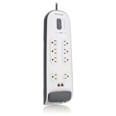 8 Outlet Surge 6ft Cd, Phone