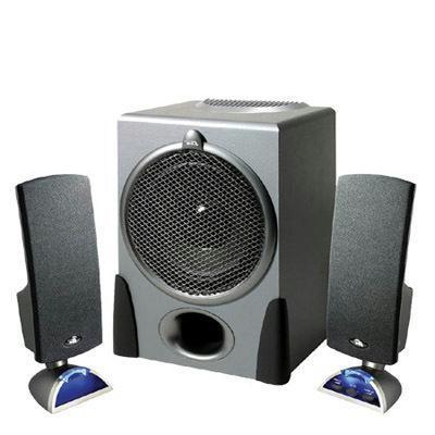 2.1 Black Speaker System