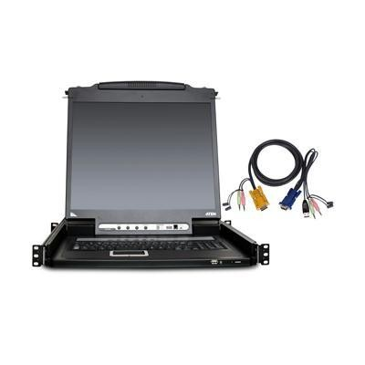 16-Port LCD KVM Console Kit