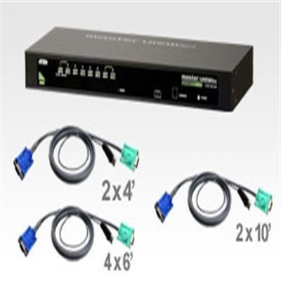 8-port Combo Kvm W 8-usb Cable