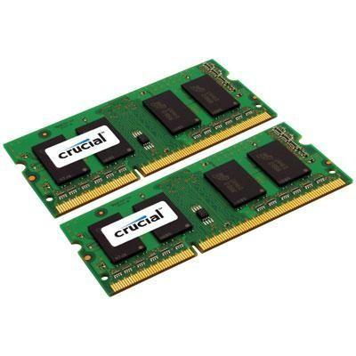 2GB kit (1GBx2) 204-pin SODIMM